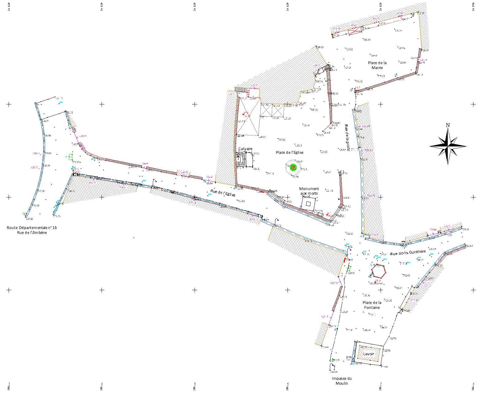 Plans topographique