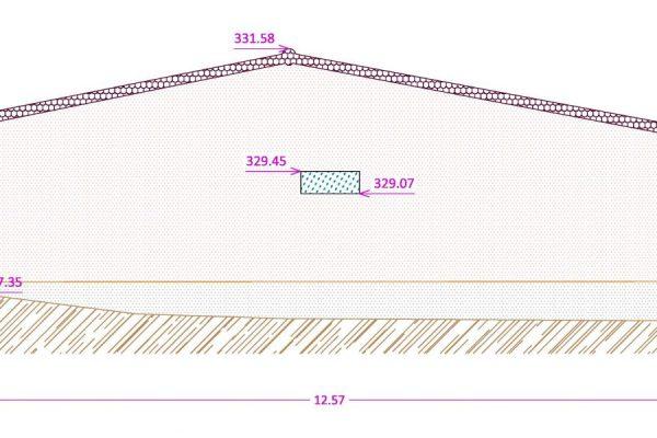 Plan de façade d'une maison individuelle